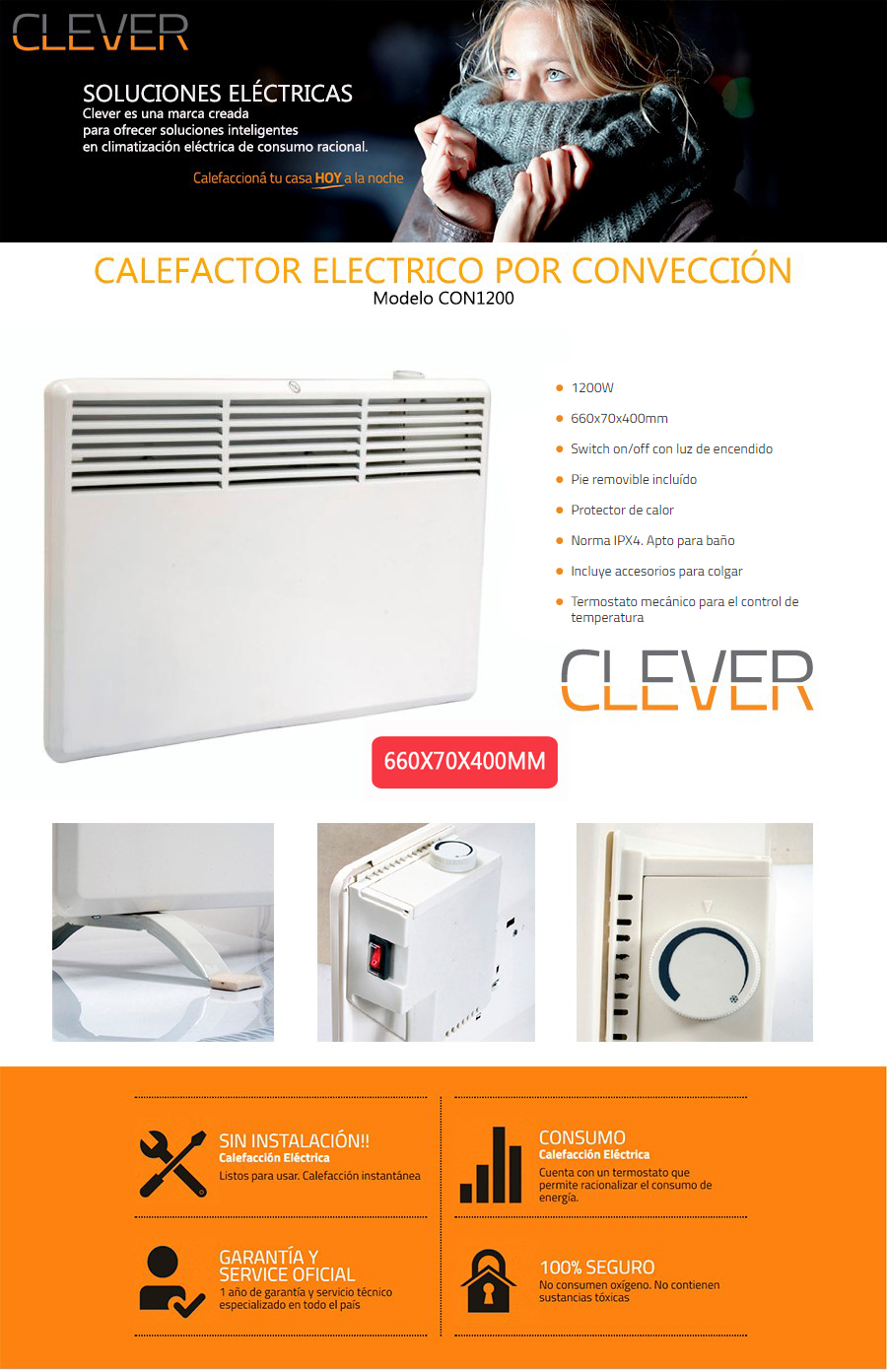 Convector Clever