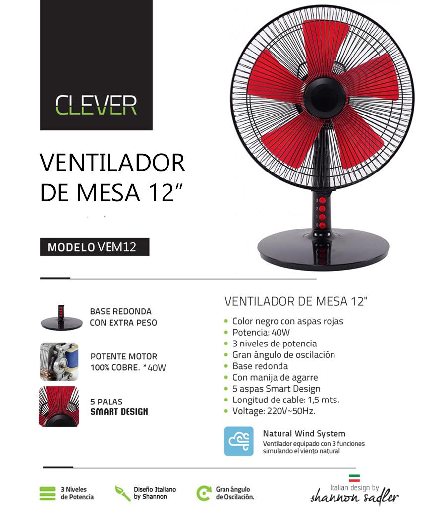 Ventilador Clever